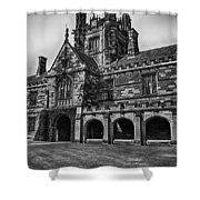 University Of Sydney Quadrangle  V5 Shower Curtain