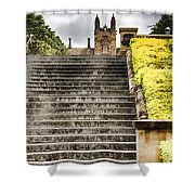 University Of Sydney Steps Shower Curtain