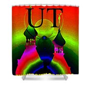 University Of Tampa Smart Phone Case Work B Shower Curtain