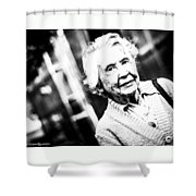 Unknown Grandma Shower Curtain