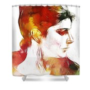 Unknown Lady Shower Curtain