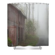 Unknown Where The Road Will Take You Shower Curtain