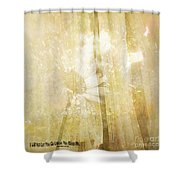 Unless You Bless Me Shower Curtain