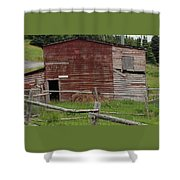 Unstable Lodgings Shower Curtain