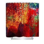 Untamed Colors  Shower Curtain by Prakash Ghai