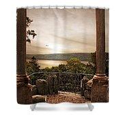 Untermyer Views Shower Curtain