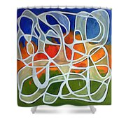 Untitled #18 Shower Curtain