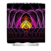Untitled 396 Shower Curtain