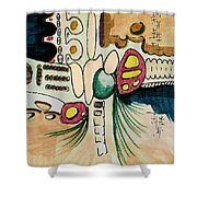 Untitled 940410 Shower Curtain