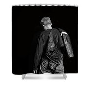 Untitled Shower Curtain by Edward Fielding