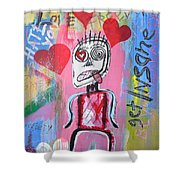 Untitled Love Shower Curtain