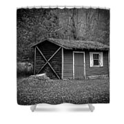 A Place In The Woods Shower Curtain