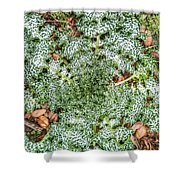Unwanted Nature Shower Curtain