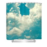 The Kiss Of The Clouds Shower Curtain