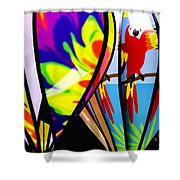 Up And Away V2 Shower Curtain