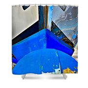 Up And Over Shower Curtain