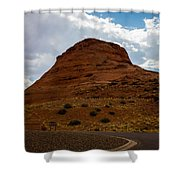 Up Around The Bend Shower Curtain
