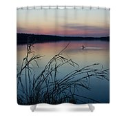 Up Before Dawn Shower Curtain