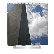 Up Bunker Hill Shower Curtain