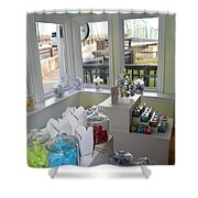 Up Front Shower Curtain