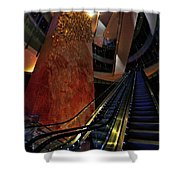 Up The Down Escalator Shower Curtain