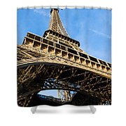 Up The Eiffel Tower 1 Shower Curtain