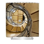 Up The Staircase Shower Curtain