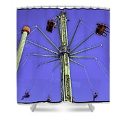 Up Up And Away 2013 - Coney Island - Brooklyn - New York Shower Curtain