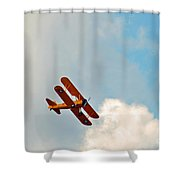 Up Up In The Sky  Shower Curtain