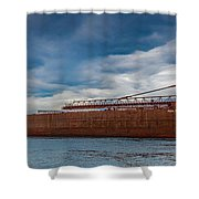 Upbound At Mission Point 2 Shower Curtain