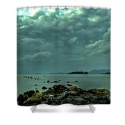 Upcoming Rain Shower Curtain