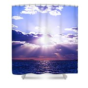 Uplifted Shower Curtain