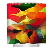 Uplifting Psychically  Shower Curtain
