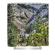 Upper Bear River Valley Shower Curtain