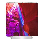 Upper Canyon 18 Shower Curtain
