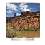 Upper Colorado River View Shower Curtain