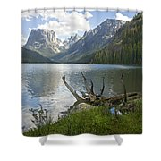 Upper Green River Lake Shower Curtain