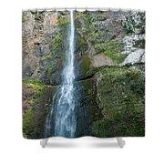 Upper Multnomah Falls Shower Curtain