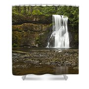 Upper North Silver Falls 1 Shower Curtain