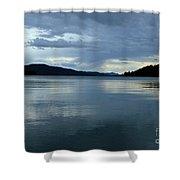 Upper Priest Lake Shower Curtain