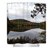 Upper Saranac Bay In Fall Shower Curtain