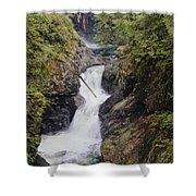 Upper Twin Falls Shower Curtain