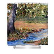 Upper Valley Shower Curtain