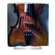 Upright Violin - Cool Shower Curtain