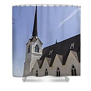 Upstate Church Shower Curtain