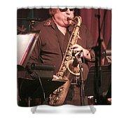 Uptown Horns - Arno Hecht Shower Curtain