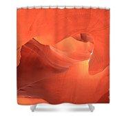 Upward Gaze Shower Curtain