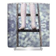 Upwards Shower Curtain