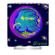 Uranus Ss Shower Curtain