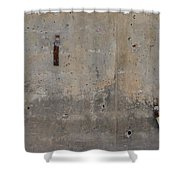 Urban Abstract Construction 1 Shower Curtain